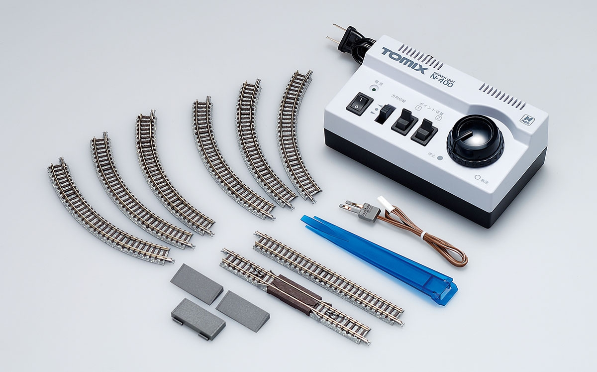 鉄道模型を始めたい人は「(ミニ)鉄道模型運転セット」+「車両」でOK
