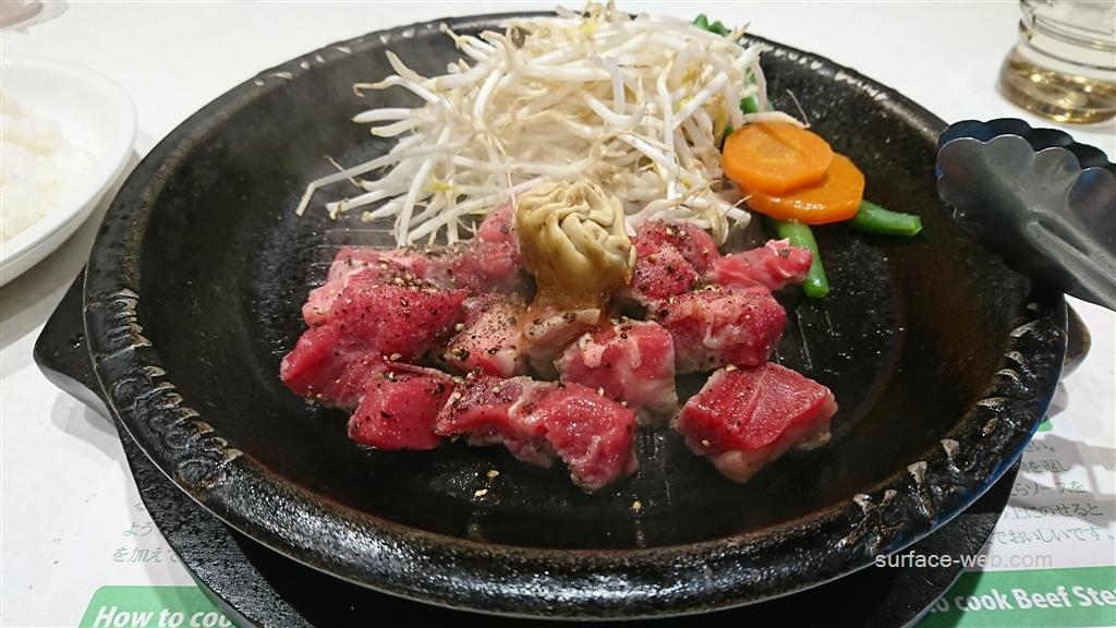新松戸「ペッパーランチ」のステーキ肉は目の前で焼く!体験談