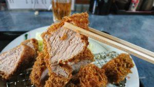 新松戸「港や」豚カツ専門店のヒレカツ定食が美味しい!