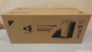 ダイキン空気清浄機のヨドバシ限定モデル「MCK55UY-W」レビュー