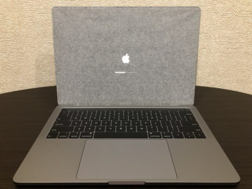 MacBook Pro 13インチ タッチバー有りの2018年モデル レビュー